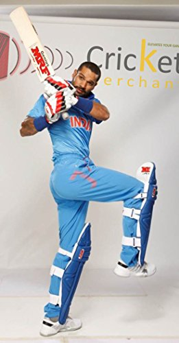 MRF Genius Unique Edition English Willow Criket Bat Used by Shikhar Dhawan by MRF