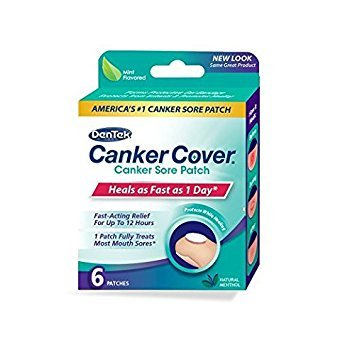 Canker Treatment Breakthrough Sore - Canker Cover Patches, 6 Count Per Box (3 Boxes)