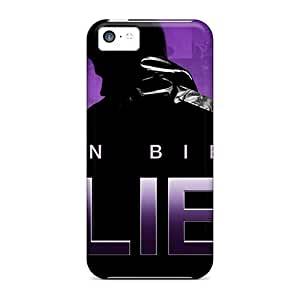 For Iphone 5c Premium Tpu Case Cover Justin Bieber's Believe 2013 Protective Case