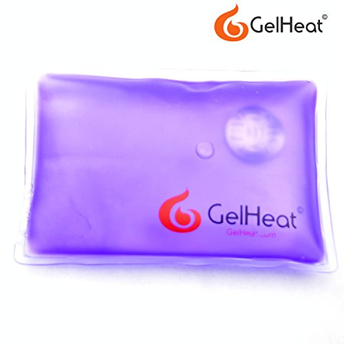 Pack of 5 Gel Heat Instant Hand Warmers - Reusable Click Heat Pads (Blue)