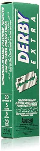 Derby Extra Double Edge Razor Blades - 100 count