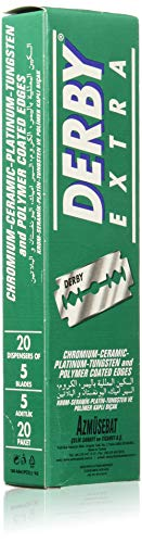 Derby Extra Double Edge Razor Blades, 100 Count for sale  Delivered anywhere in USA