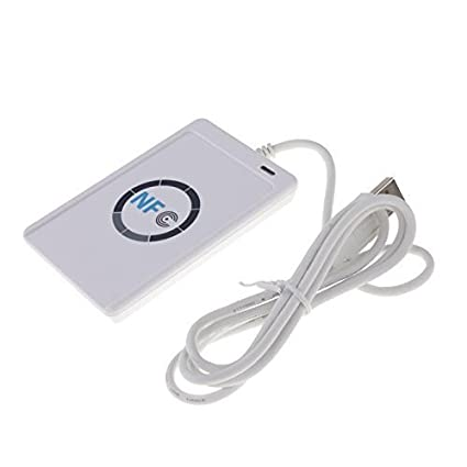 NFC ACR122U RFID sin contacto USB lectura de Smart Tarjeta 12 Mbit ...