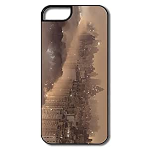 Cute New York Fog Case For HTC One M8 Cover Him