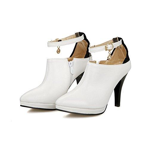 5 Eu Pumps shoes Fibbia Balamasa Materiale 41 Girls Bianco Morbido white Apl02592 Lace UxqPwv4B