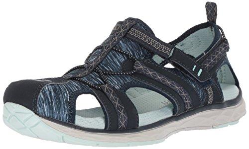 Dr. Scholl's Shoes Women's Archie Sport Sandal, Navy Nubuck, 8 M US