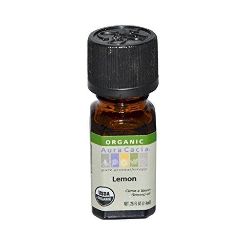 Aura Cacia Organic Lemon Oil