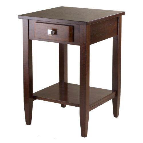 Winsome Richmond End Table with Tapered Leg