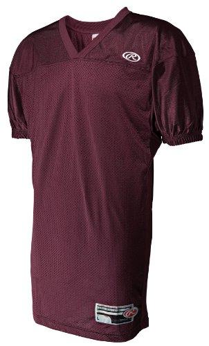 (Rawlings Men's Fj9055Fi Football Jersey (Maroon, Small))