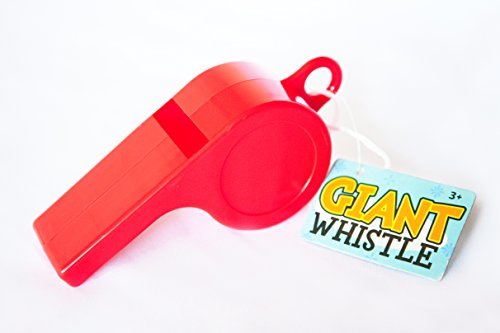 Giant Whistle Necklace for Kids, Effective Speech Therapy Toy and Speech Therapy Game. Helps with speech development in children and toddlers with delays. Make Speech Therapy material FUN!