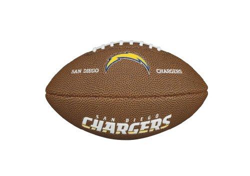 (Wilson WTF1533IDSD NFL Team Logo Mini Size Football - San Diego Chargers)
