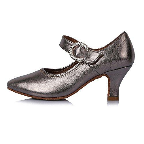latine Bal Chaussures Moderne Danse d'Amérique de de 30709 femmes YFF Tango de 58mm heel Tq4zWpUp