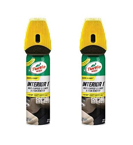 Turtle Wax Oxy Interior 1 Multi-Purpose Cleaner and Stain Remover (Pack of 2) -