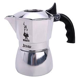 Bialetti Brikka 2 Tassen Espressokocher mit Cremaventil