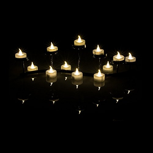 AGPtek Battery Operated Flameless Tealights Birthday