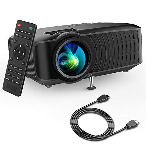 DBPOWER 2019 Newest 120 ANSI 3400Lm LCD Video Projector