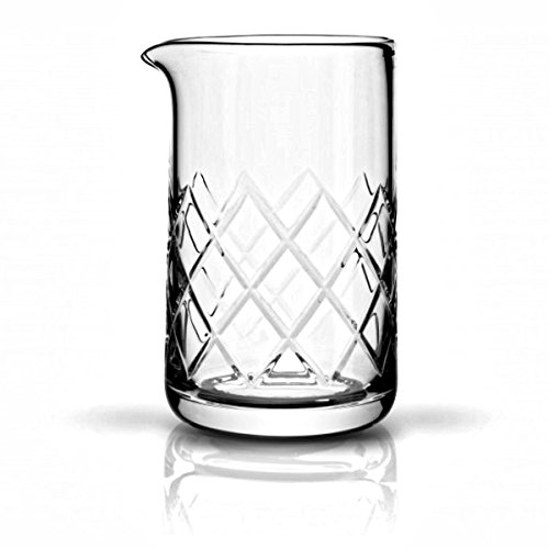 Cocktail Mixing Glass Premium Series Seamless and Handblown 550ml by Mixologists