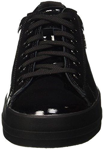 Geox D Hidence B, Zapatillas para Mujer Schwarz (BLACKC9999)