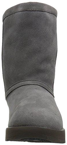 Waterproof Women's UGG Short Boot Classic Sheepskin High Top Metal w67zOgq6