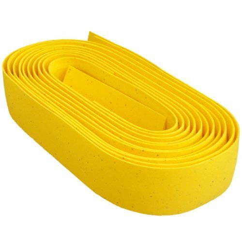 Bike Ribbon Cork Gel Road Bicycle Handlebar Tape (Gelb) by bike Ribbon