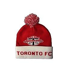 Toronto FC Soccer Football MLS Toque Hat With Pom Pom ..High Quality.. New