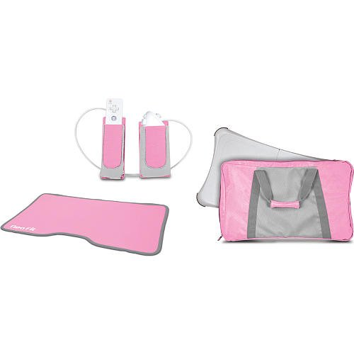 dreamGEAR 3-in-1 Lady Fitness Workout Kit for Nintendo Wii Fit
