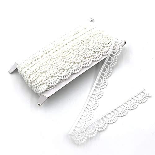 ELLA MAMA Crocheted Lace Trim DIY Craft Ribbon 1/2