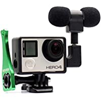 Microphone for Gopro, PANNOVO 3.5mm mini Mic microphone...