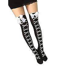 Tenworld Women Girl Warm Over Knee Thigh-High Boot Socks Long Stocking