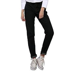 GCAROL Women's Denim Jeans Mom Style Pencil Pants