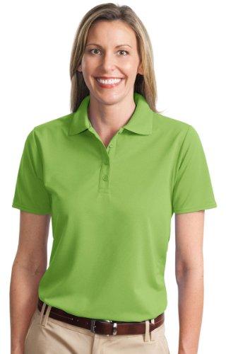 Port Authority - Ladies Dry Zone Ottoman Polo. - Green Oasis - XL