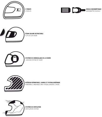 Gloss black XS Casque jet moderne en polycarbonate Casque jet DJ10-2 monocolor- Casque jet /à /écran long Astone Helmets