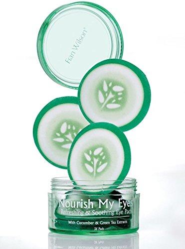 Fran Wilson Nourish My Eyes Cucumber, 36 Count (Green Pads Tea)