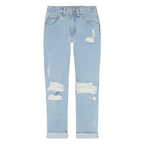 Levi's Girls' Big Girlfriend Fit Jeans, Montauk, 14