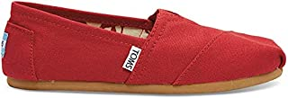 Toms Women's Classic Canvas Slip-On Shoe (Red Canvas, 8.5) (B07YSYSXZC) | Amazon price tracker / tracking, Amazon price history charts, Amazon price watches, Amazon price drop alerts