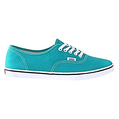 Vans Unisex Authentic Skate Shoe (10.0 B(M) US Womens/ 8.5 D(M) US Mens, Teal Blue/ True White)