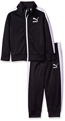 Classic Track Pant - PUMA Toddler Boys' Track Set, Midnight Black, 2T