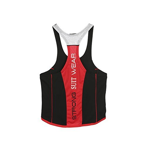 Da Sportiva Per Amanti Uomo Del Fitness Canotta Athletic Multicolore Gli w5IAxEa