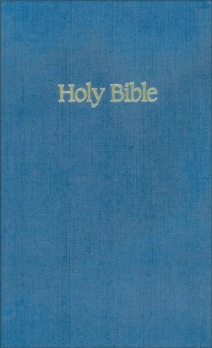 NIV Ministry/Pew Bible (Blue )