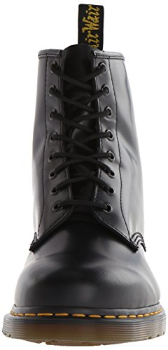 Dr Martens Broken In 1460, Boots mixte adulte - Noir (Smooth) -V.6, 46 EU