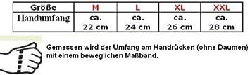 HEYBERRY Winter Motorradhandschuhe gef/üttert schwarz gr/ün Gr M