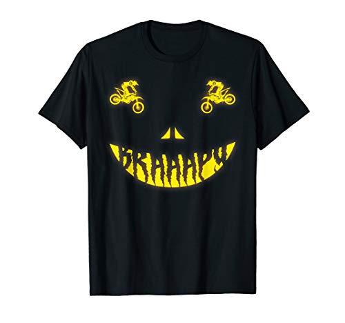 Halloween Costume Motocross Dirt Bike Scary Face -