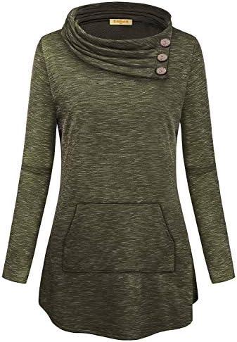 Button design sweatshirt _image4