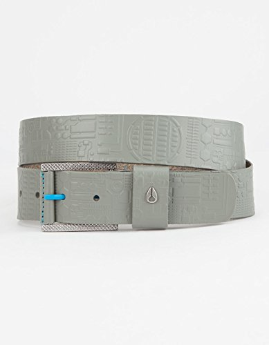 Nixon Unisex The Americana Belt X Star Wars Collab Millennium Falcon Gunmetal (Nixon Embossed Belt)