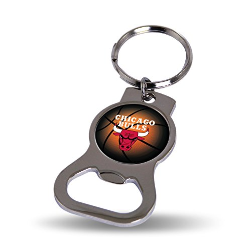 Nba Chicago Bulls Keychain (Rico Chicago Bulls Official NBA 3 inch Bottle Opener Key Chain Keychain by 747978)