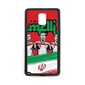 Samsung Galaxy Note 4 Cell Phone Case Black WorldCup Iran SUX_971313