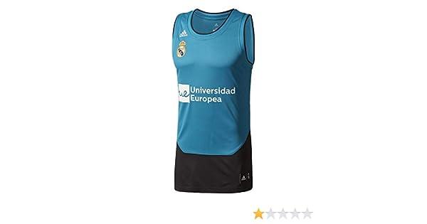 adidas Camiseta Línea Real Madrid FC, Hombre: Amazon.es: Ropa y ...