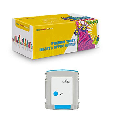 New York TonerTM New Compatible 1 Pack C4804A HP 12 High Yield Inkjet For HP Businessjet 3000 . -- Cyan