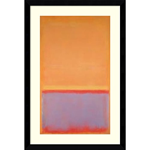 Framed Art Print, 'Untitled, 1954' by Mark Rothko: Outer Size 29 x 42