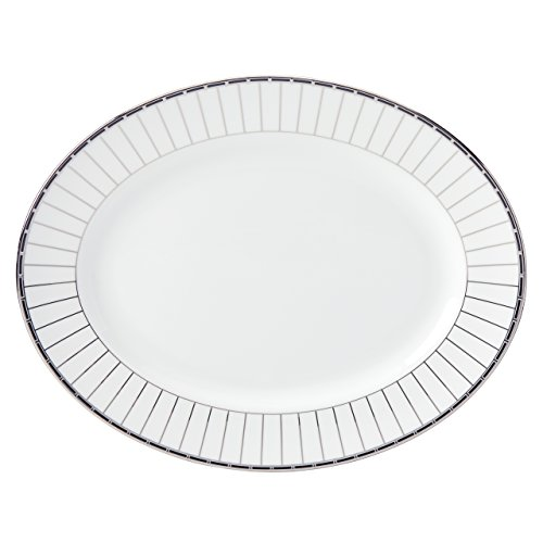 Lenox Platinum Onyx Oval Platter, 13